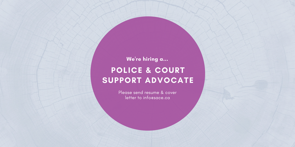 We Are Hiring – Police And Court Support Advocate, Clinical Services