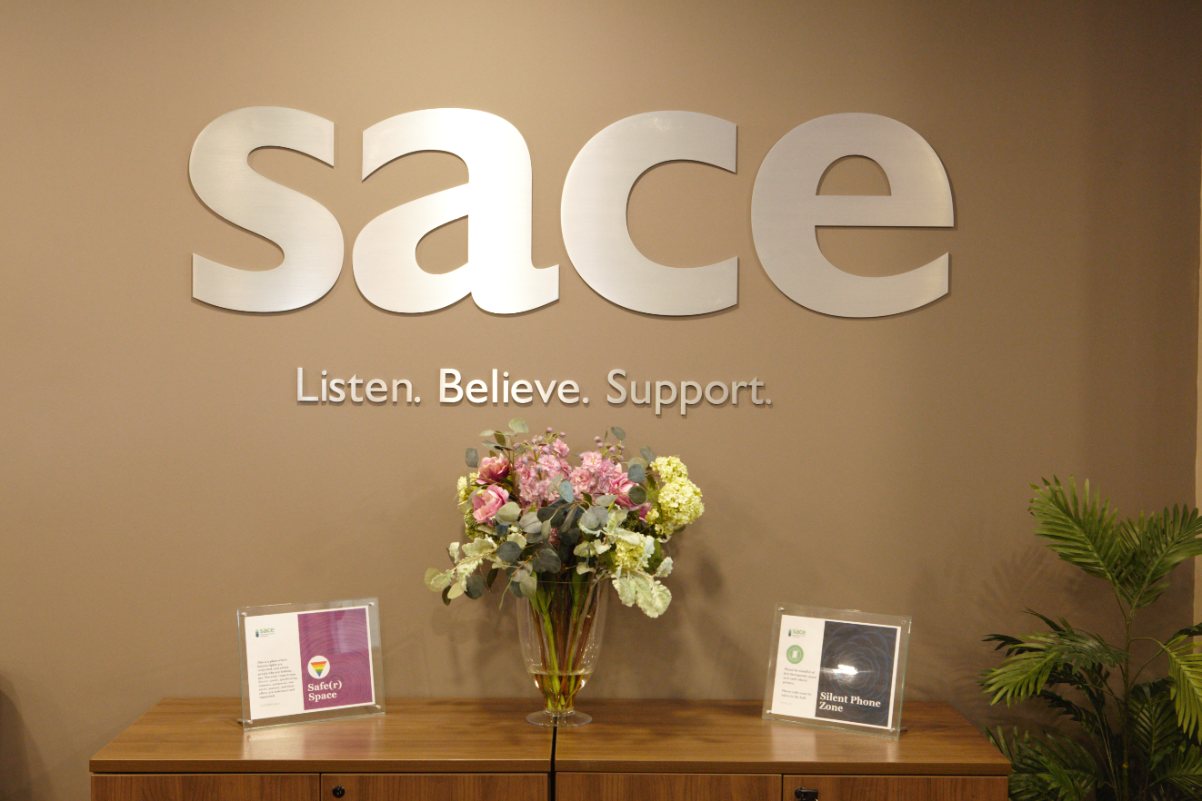 SACE Reception Area