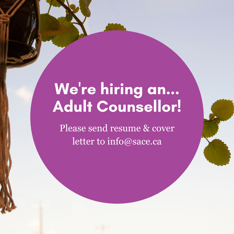 We Are Hiring An Adult Counsellor