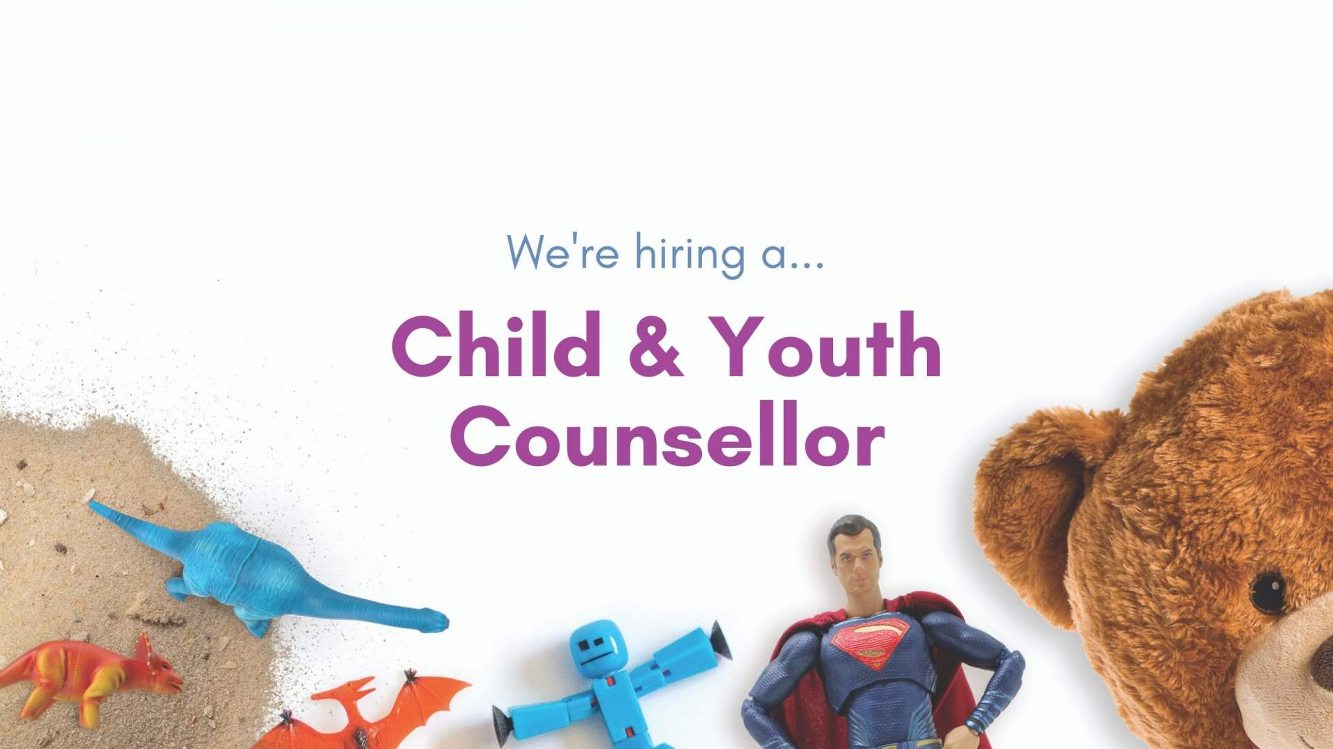 We Are Hiring A Child & Youth Counsellor
