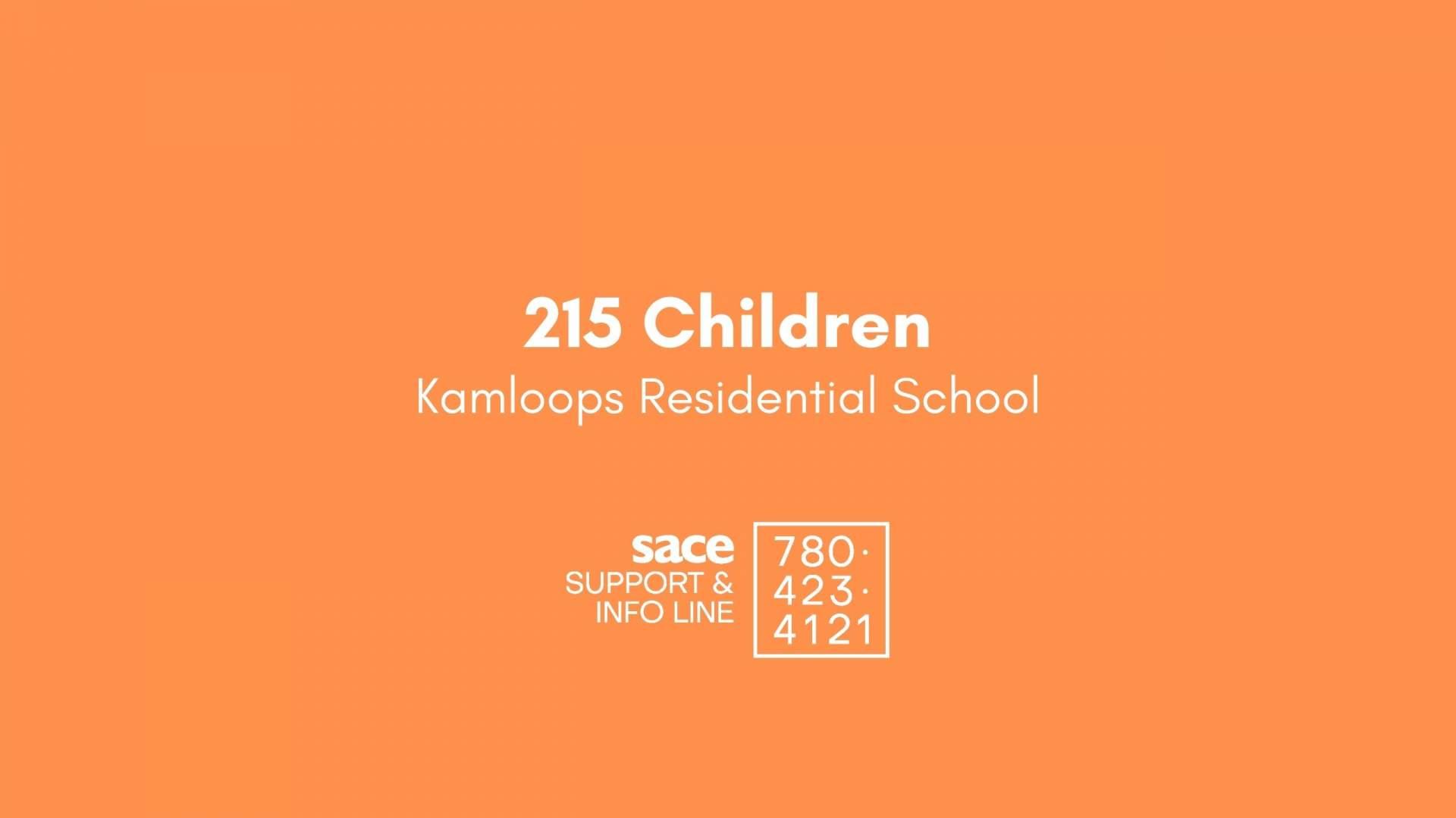 The 215 Children Of Kamloops Residential School